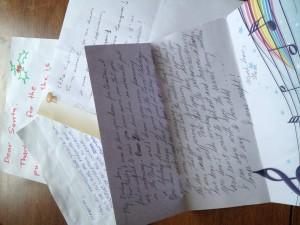 Quelques échantillons de la correspondance reçue du public participant de La lettre