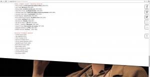 Une capture d'écran du site web du théâtre La Catapulte indiquant les lauréats du Prix O'Neil-Karch, dont A.M. Matte.
